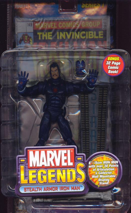 Stealth Armor Iron Man Marvel Legends
