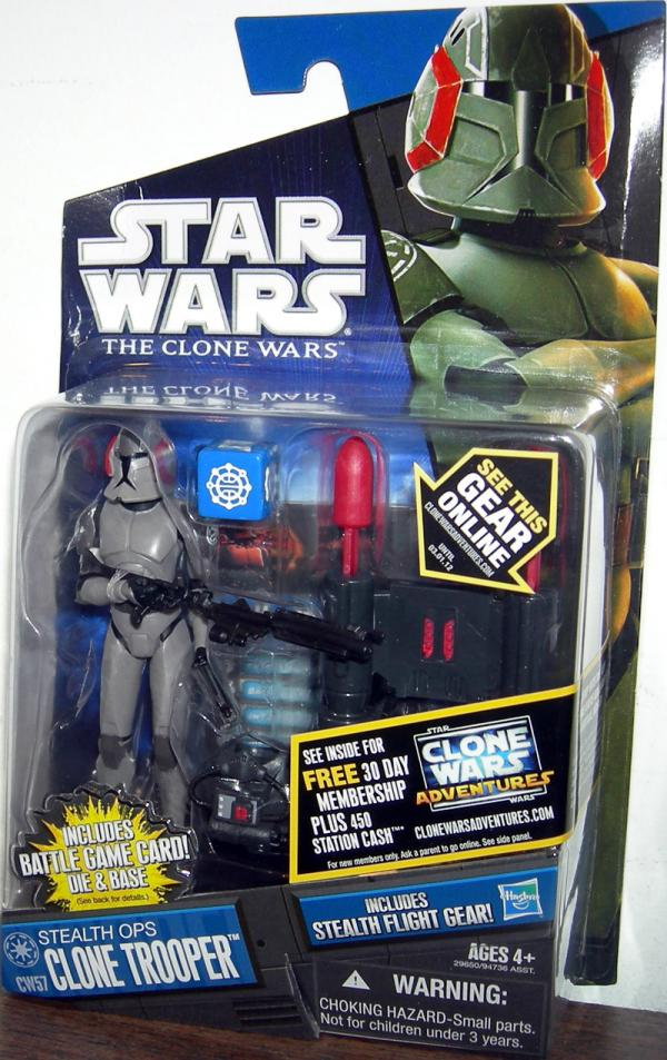 Stealth Ops Clone Trooper CW57