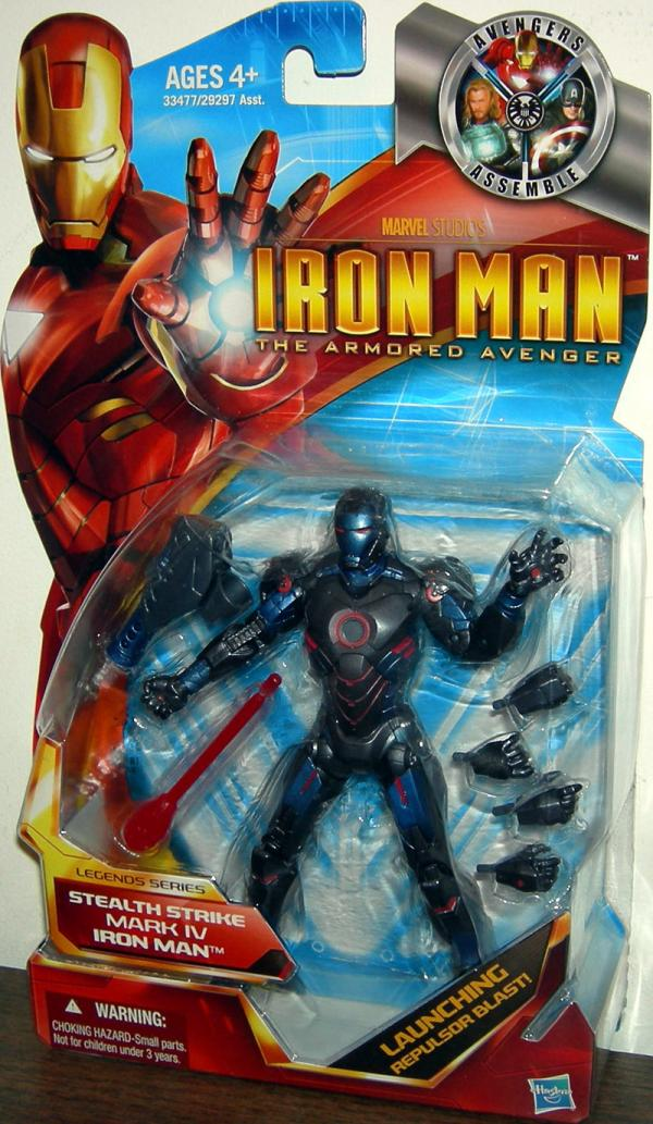Stealth Strike Mark IV Iron Man Legends Series