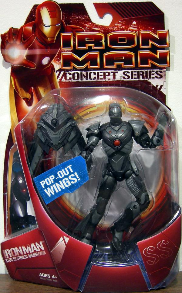 Stealth Striker Armor Iron Man Action Figure Concept Series