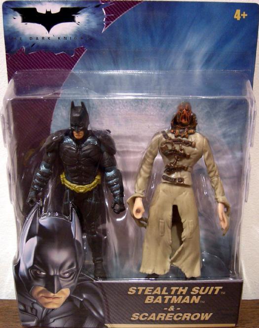 Stealth Suit Batman Scarecrow 2-Pack Dark Knight