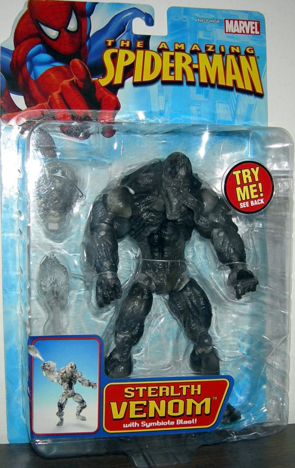 Stealth Venom Figure Amazing Spider-Man Toy Biz