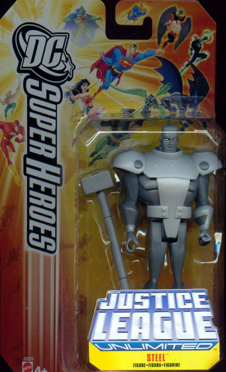 Steel DC Justice League Unlimited