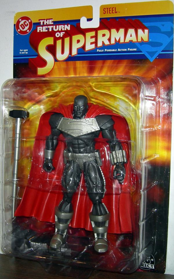 Steel Return Superman, DC Direct