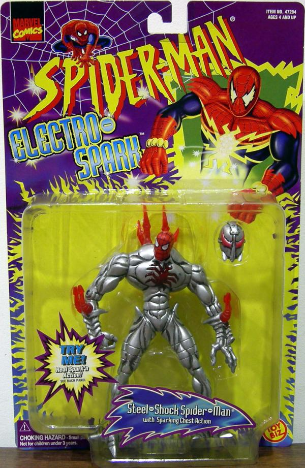 Steel-Shock Spider-Man Electro-Spark