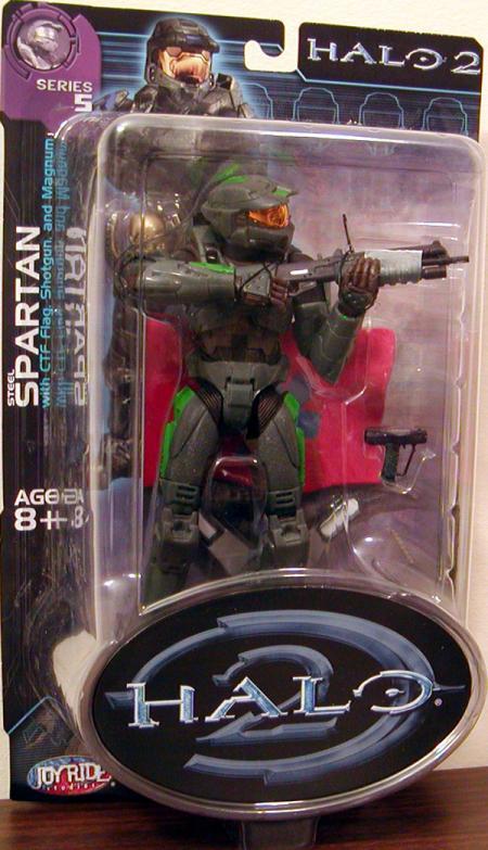 Steel Spartan green detail coloring