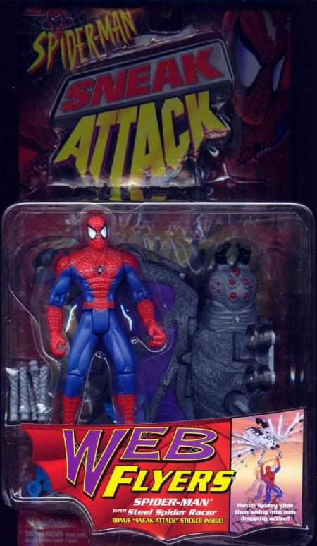 Spider-Man Steel Spider Racer Web Flyers