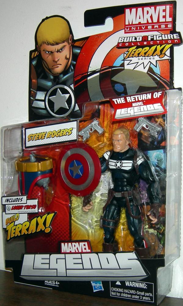 Steve Rogers Marvel Legends, Terrax Series