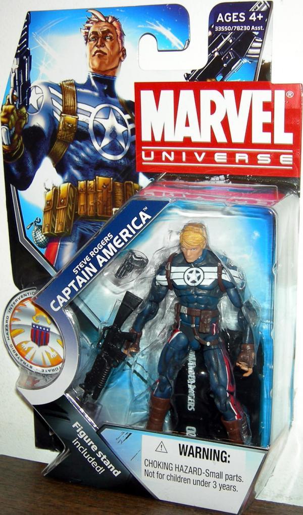 Steve Rogers Captain America Marvel Universe, series 3, 021
