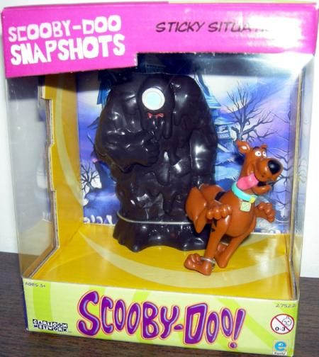 Sticky Situation Action Figures Scooby-Doo Tar Monster Snapshots