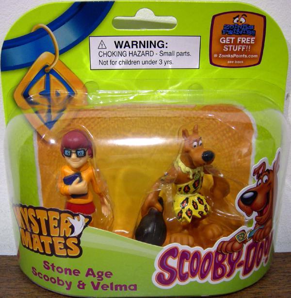Stone Age Scooby Velma Figures Mystery Mates