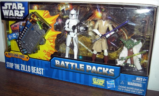 Stop Zillo Beast Battle Packs
