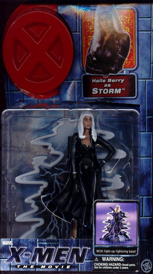 Storm X-Men Movie Action Figure Halle Berry Toy Biz