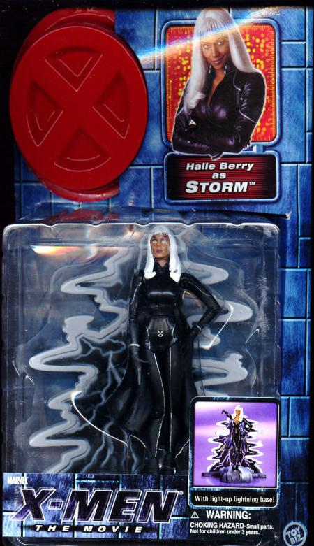 Storm Movie Zipped Up Costume Action Figure Toy Biz