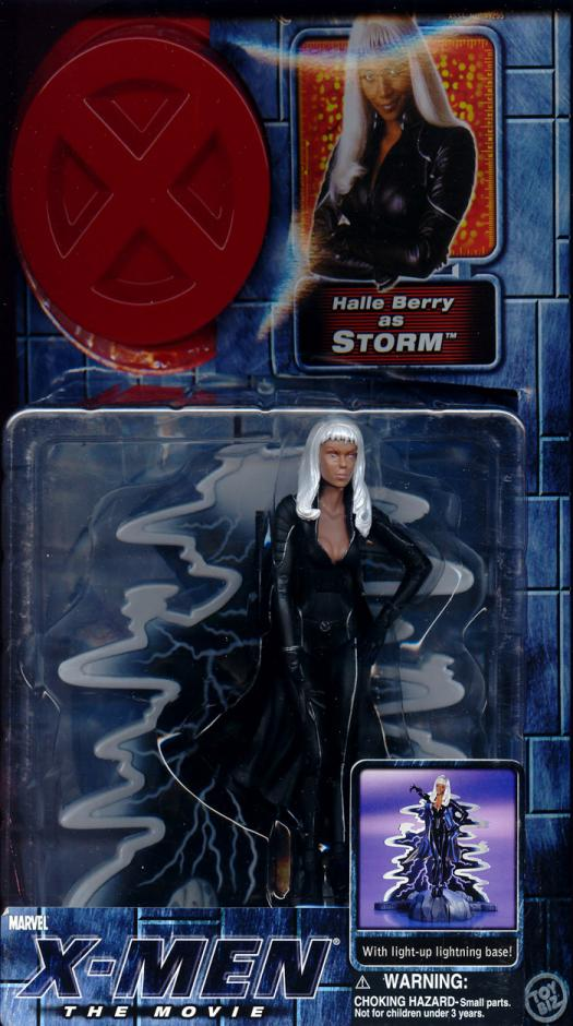 Storm Movie Action Figure No Bra No Camisole Red Eyes