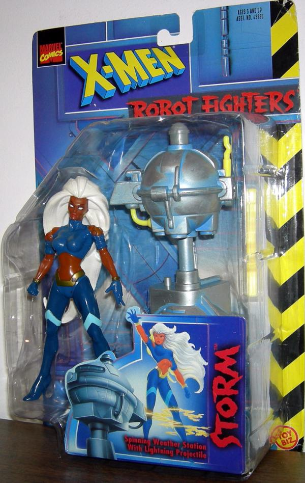 Storm Robot Fighters long hair