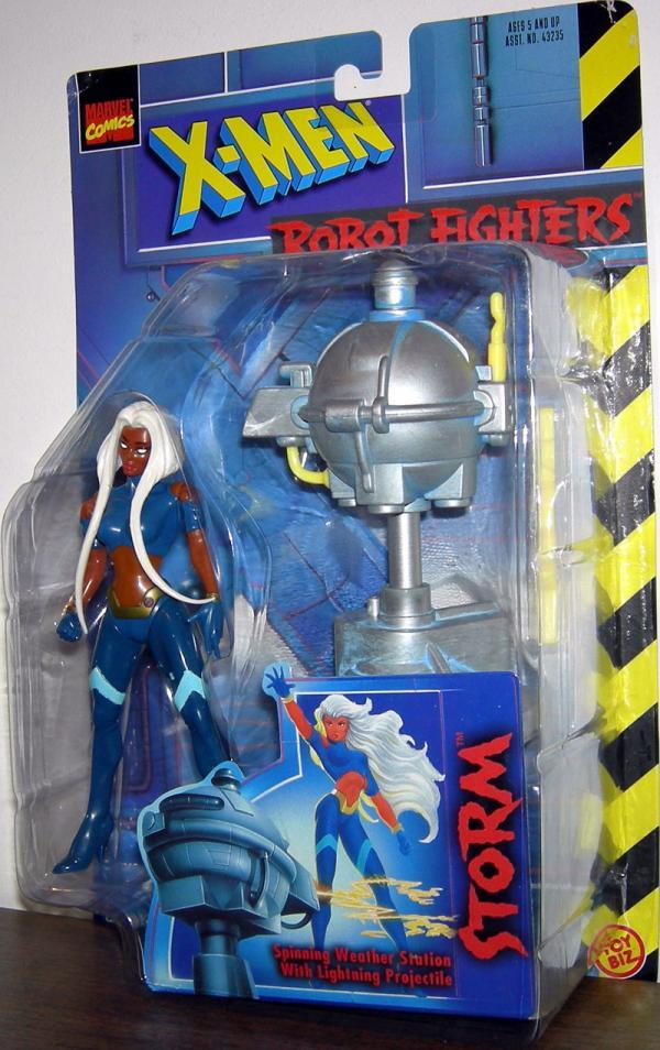 Storm X-Men Robot Fighters Action Figure Short Hair Toy Biz