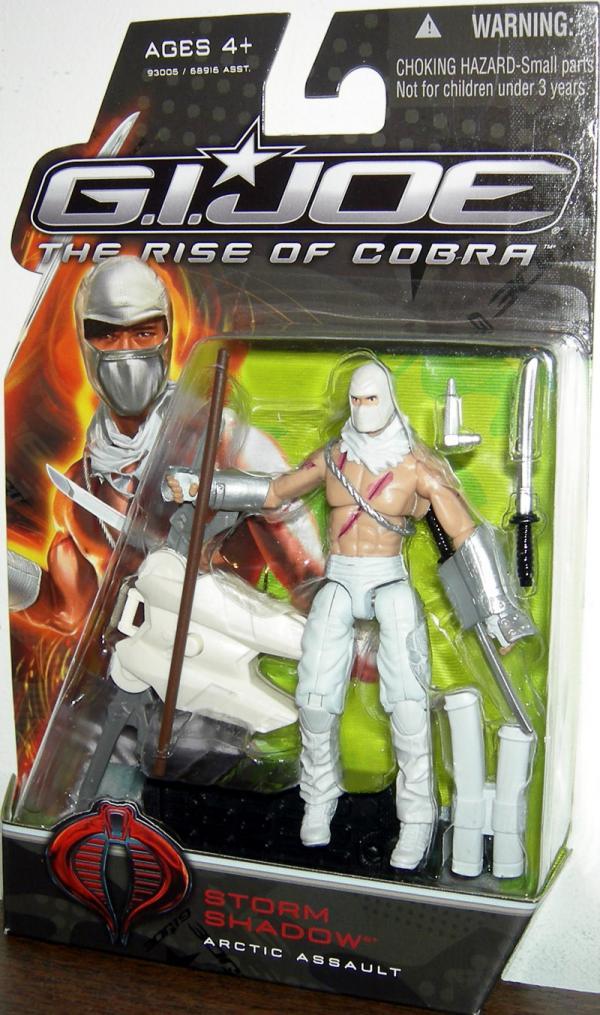 Storm Shadow - Arctic Assault Rise Cobra action figure