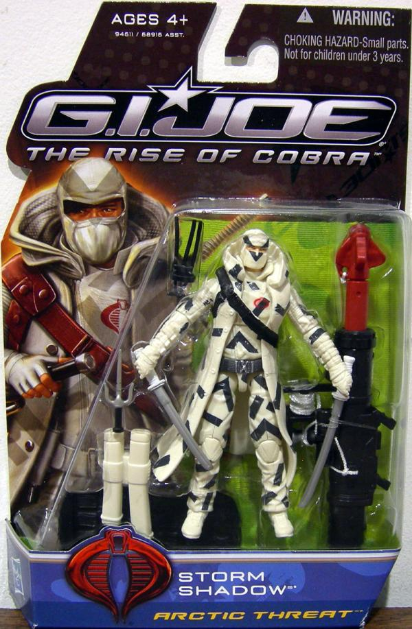 Storm Shadow Arctic Threat GI Joe Rise Cobra action figure