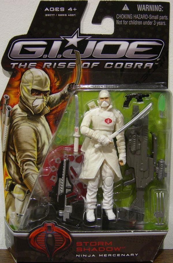 Storm Shadow Ninja Mercenary Rise Cobra action figure