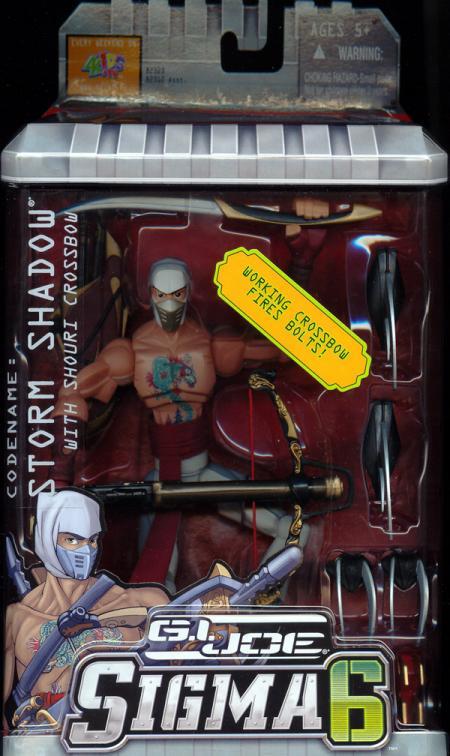 Storm Shadow Shouri Crossbow Sigma 6 action figure