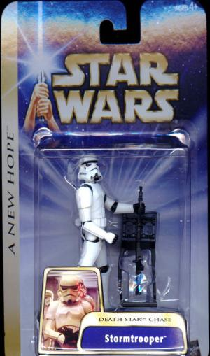 Stormtrooper Figure Death Star Chase New Hope Star Wars