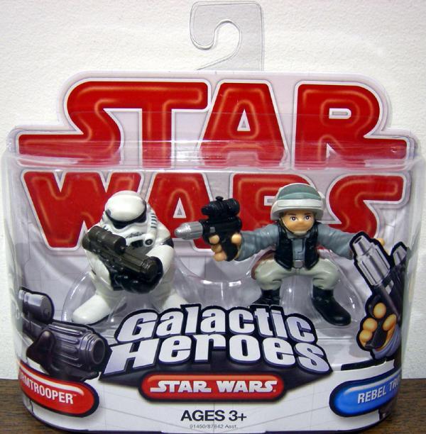 Stormtrooper Rebel Trooper Galactic Heroes