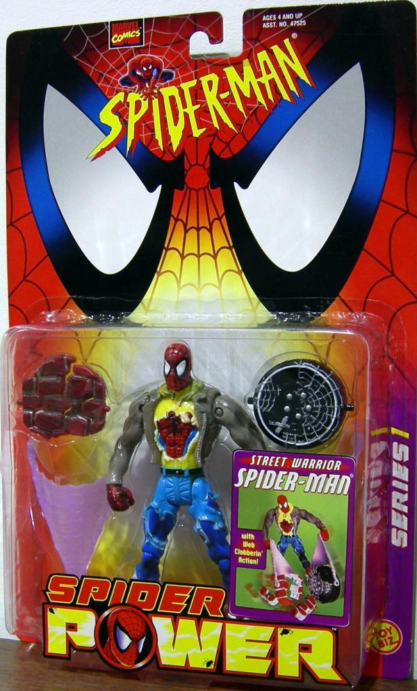 Street Warrior Spider-Man Figure Spider Power Series 1