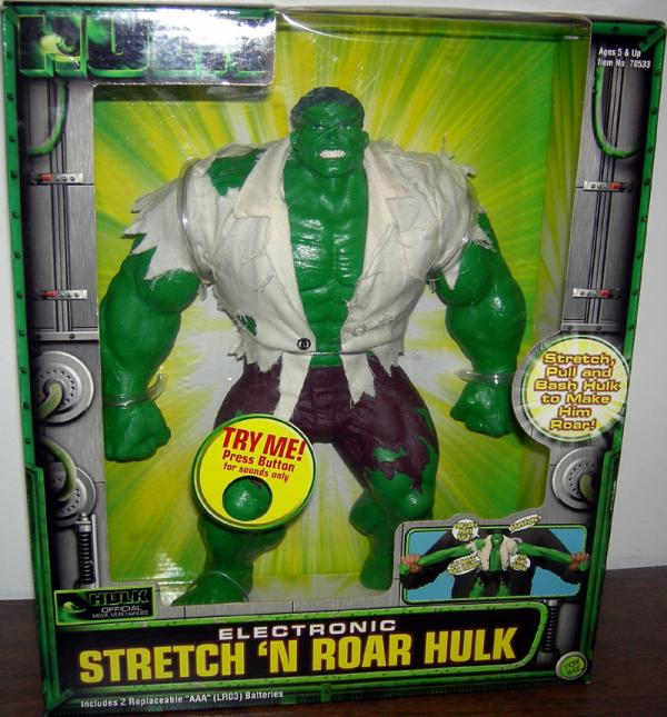 12 inch Stretch N Roar Hulk, movie
