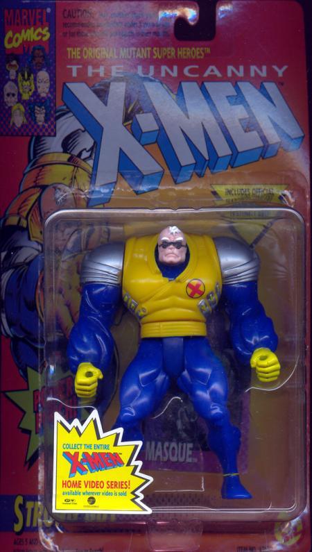 Strong Guy Action Figure Power Punch X-Men Toy Biz