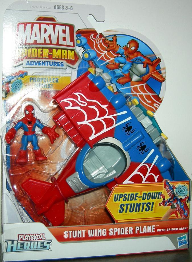Stunt Wing Spider Plan Spider-Man Playskool Heroes