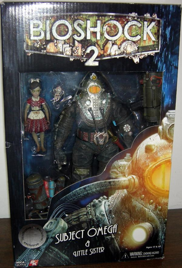 Subject Omega Little Sister Action Figures Bioshock 2 Toys R Us Exclusive