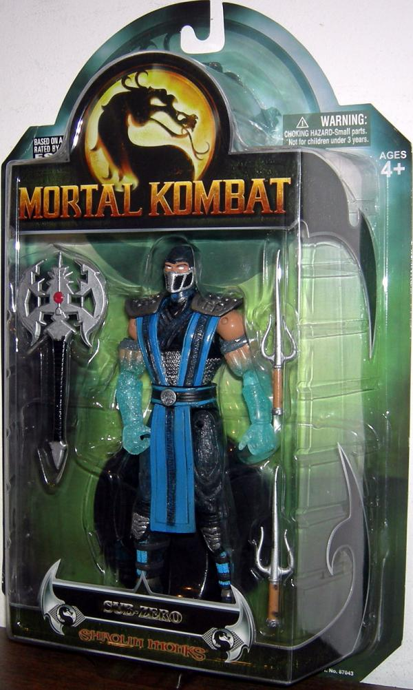 Sub-Zero 2 Mortal Kombat Shaolin Monks action figure