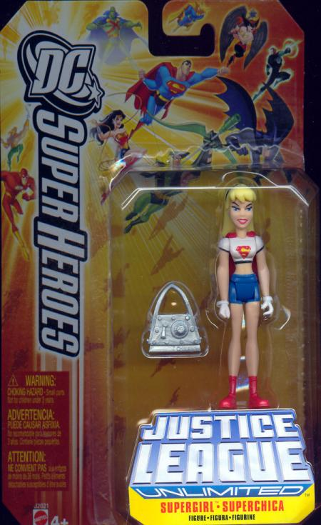 Supergirl DC Justice League Unlimited