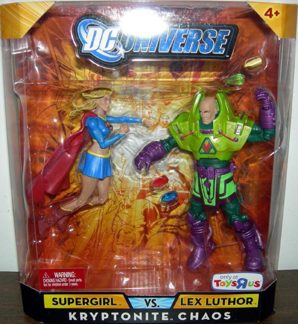 Supergirl vs Lex Luthor Kryptonite Chaos DC Universe