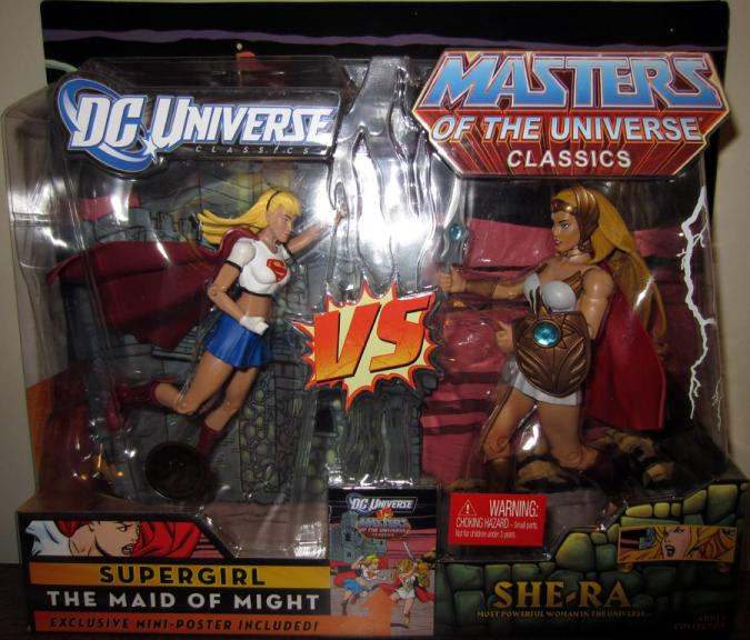 Supergirl vs She-Ra Toys R Us Exclusive