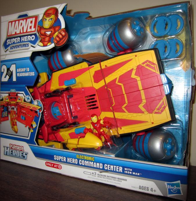 Electronic Super Hero Command Center Playskool Heroes