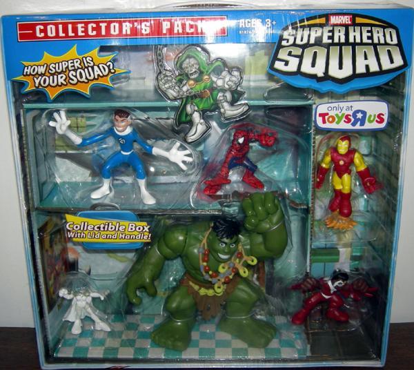 Super Hero Squad 6-Pack