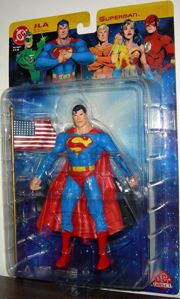 Superman DC Direct JLA Series 1 action figure