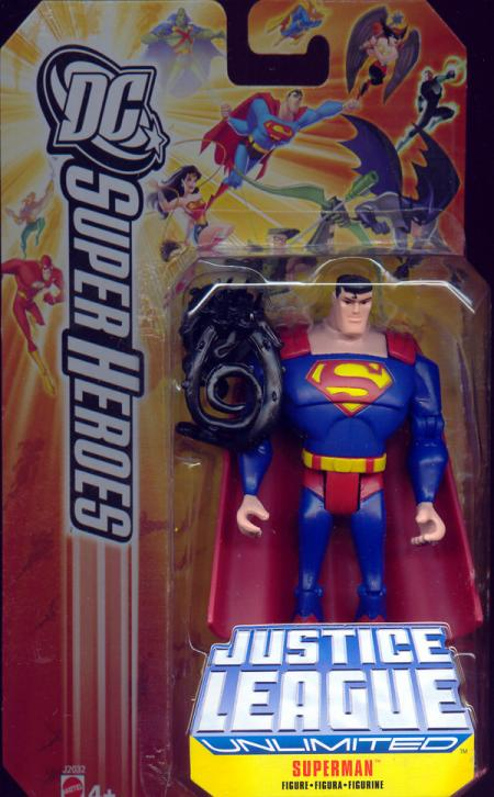 Superman DC Justice League Unlimited