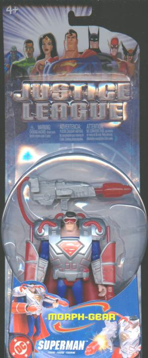 Superman Morph-Gear