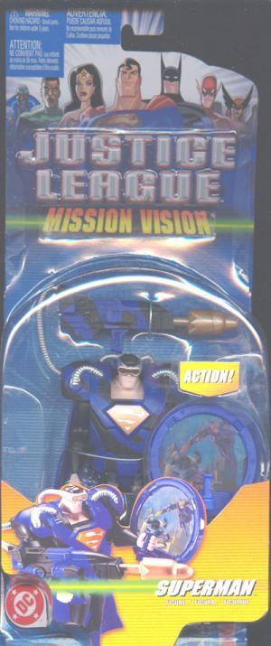 Superman Mission Vision repaint