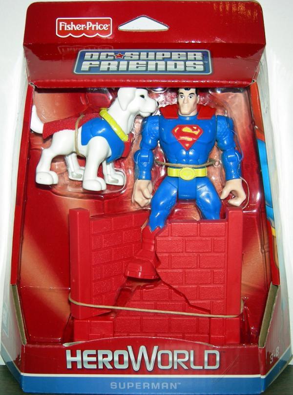 Superman DC Super Friends HeroWorld