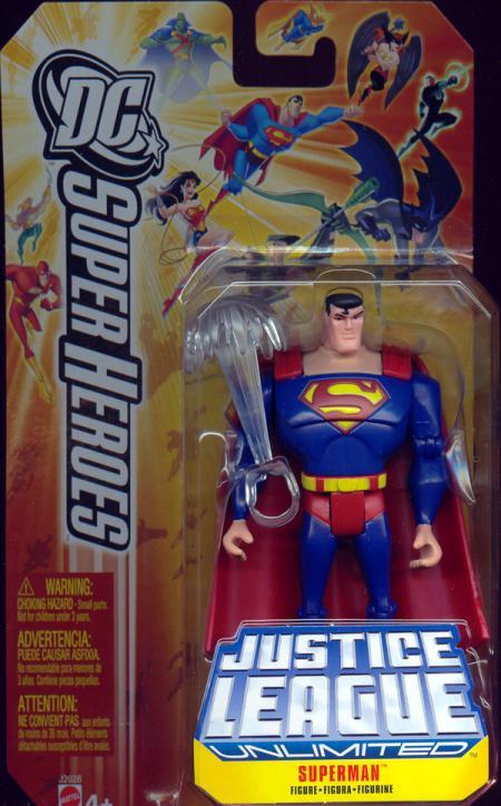 Superman DC SuperHeroes Justice League Unlimited, series 2