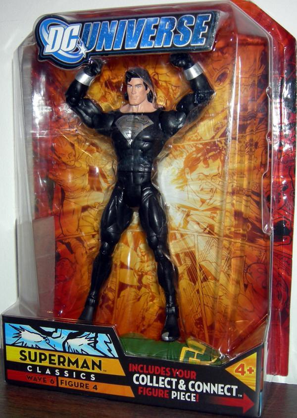 Superman DC Universe, black suit
