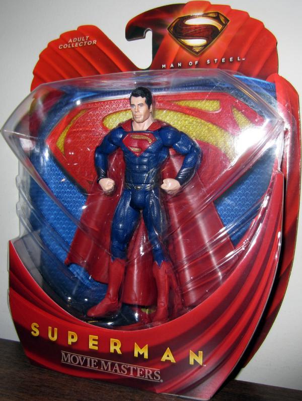 Superman Figure Movie Masters Man Steel Mattel