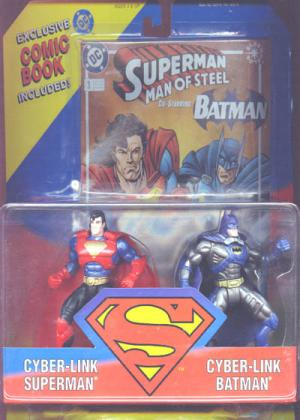 Cyber-Link Superman Cyber-Link Batman