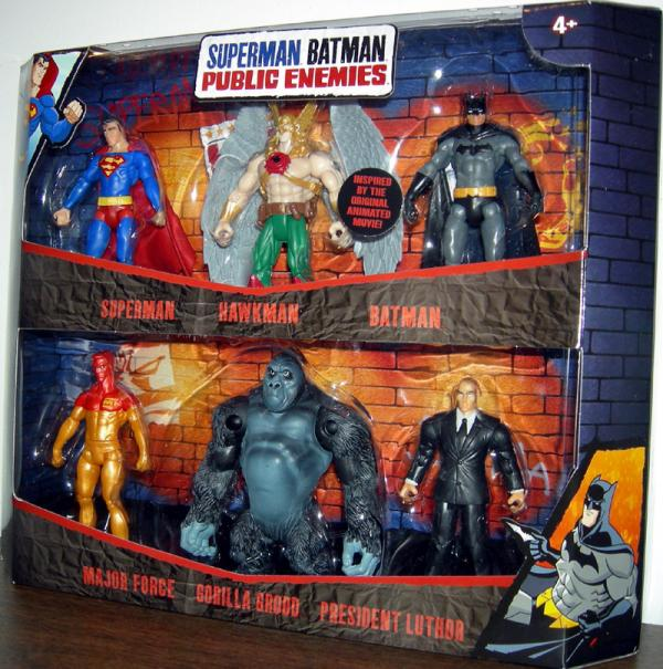 Superman Batman Public Enemies 6-Pack