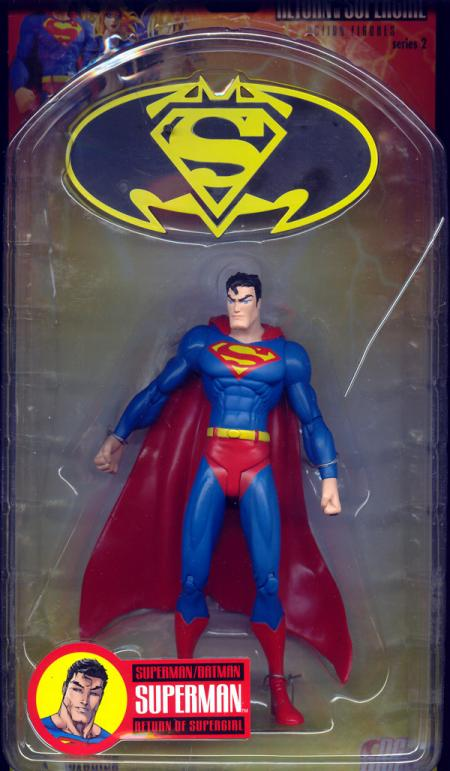 Superman Batman- Series 2- Return Supergirl- Superman