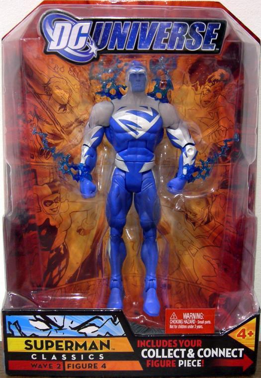 Superman Blue Action Figure 4 DC Universe Wave 2